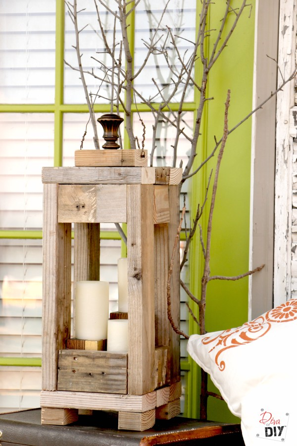 Rustic Lantern: Easy and Affordable with 2x4s