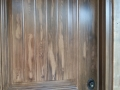 Faux Wood front door-metal