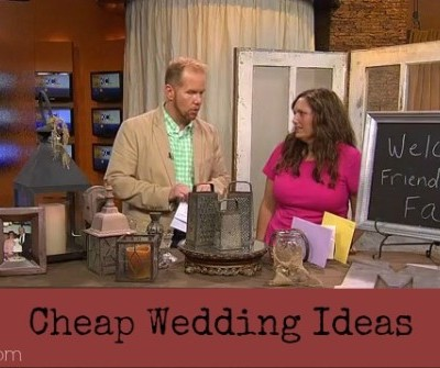 Creative Decorating Suggestions For Weddings On A Budget
