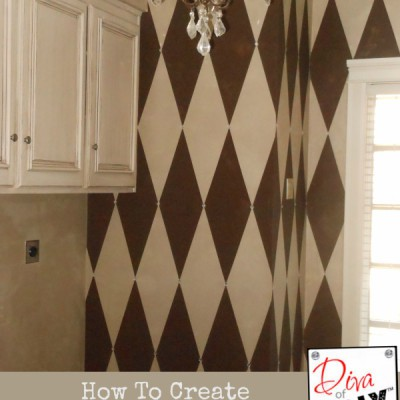 12 Easy Steps to the Perfect Harlequin Pattern