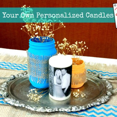 How to Make Personalized Candles
