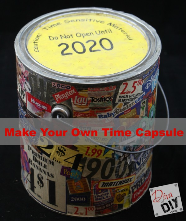 How To Create A Time Capsule Of Family Memories