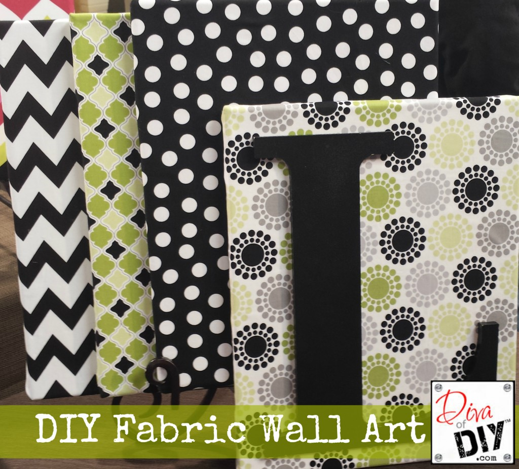 Fabric Wall Art Is A Great And Inexpensive Way To Add Texture And Color To  Your