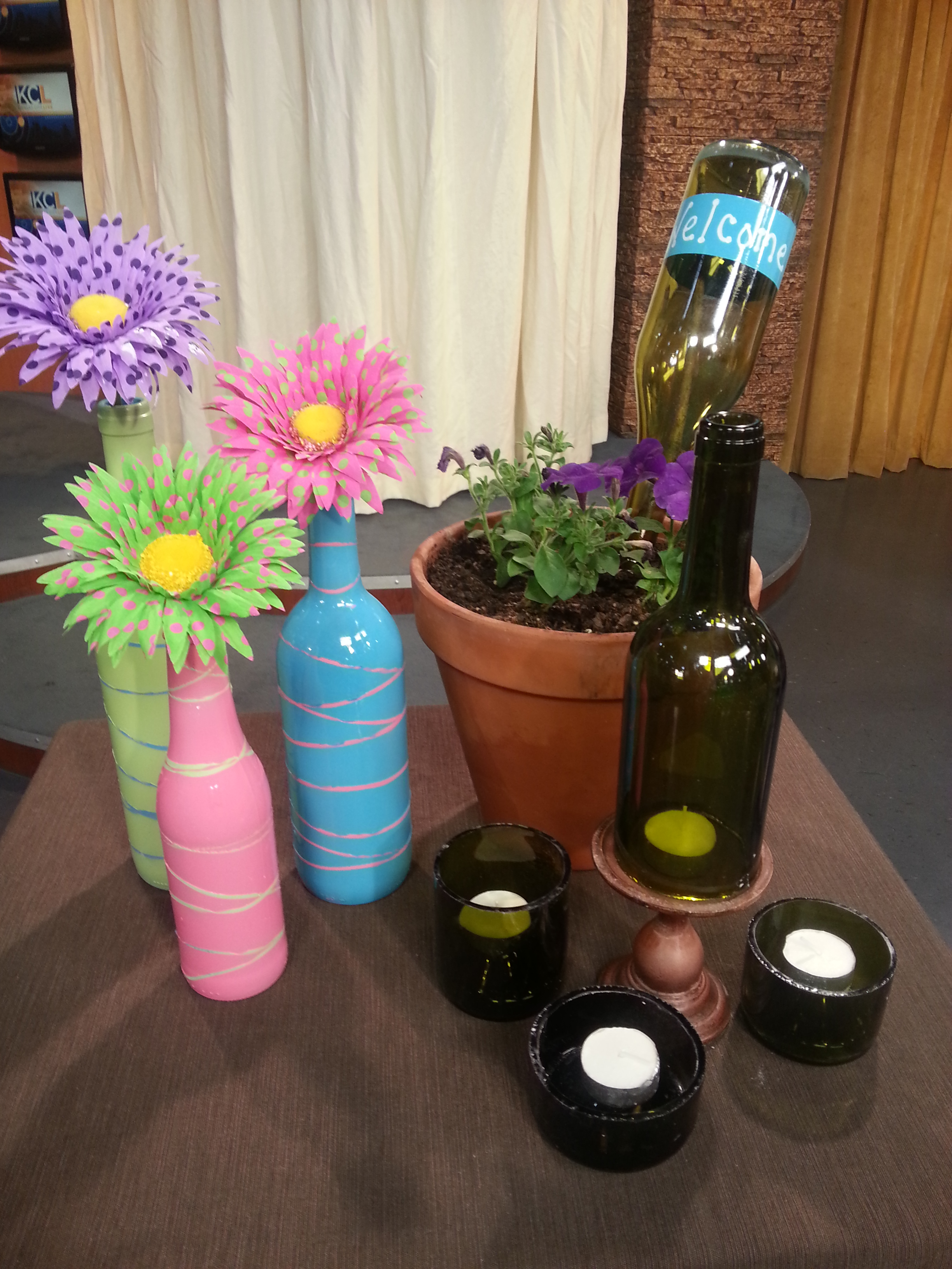Wine And Beer Bottle Crafts