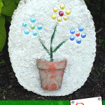 Create your ow DIY Stepping Stones for the perfect gift or homemade outdoor pathway through your garden. Perfect kids project for Father's Day!