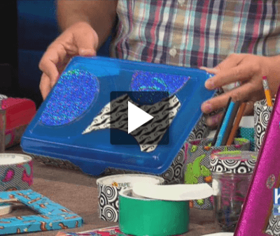 Reuse, Repurpose & Recycle with Duct Tape
