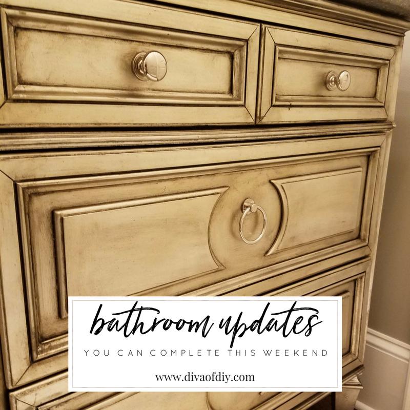 Diy Bathroom Ideas: 4 DIY Bathroom Ideas That Are Quick And Easy L Diva Of DIY