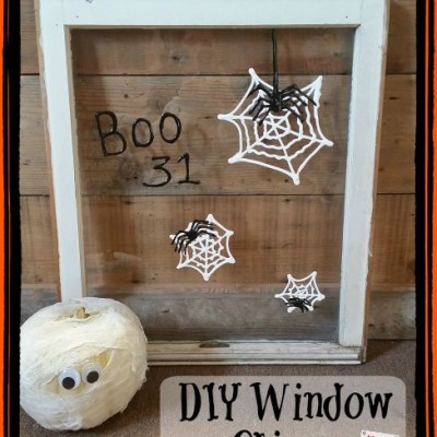 Halloween Crafts for Kids: Easy Homemade Window Clings