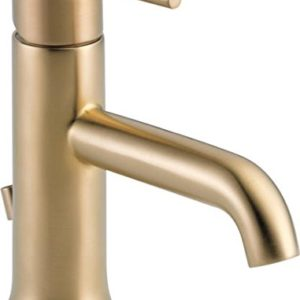 This brass faucet will look great in your newly updated bathroom