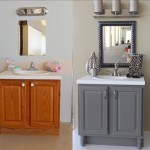 Create the bathroom of your dreams with an inexpensive bathroom makeover that can easily be completed in a weekend with these 4 DIY bathroom ideas!