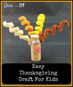 Easy Cork Turkeys