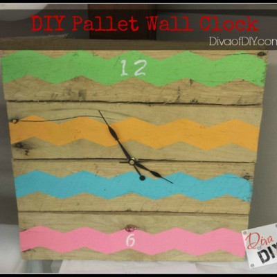 How to Make a Wall Clock from Old Pallets