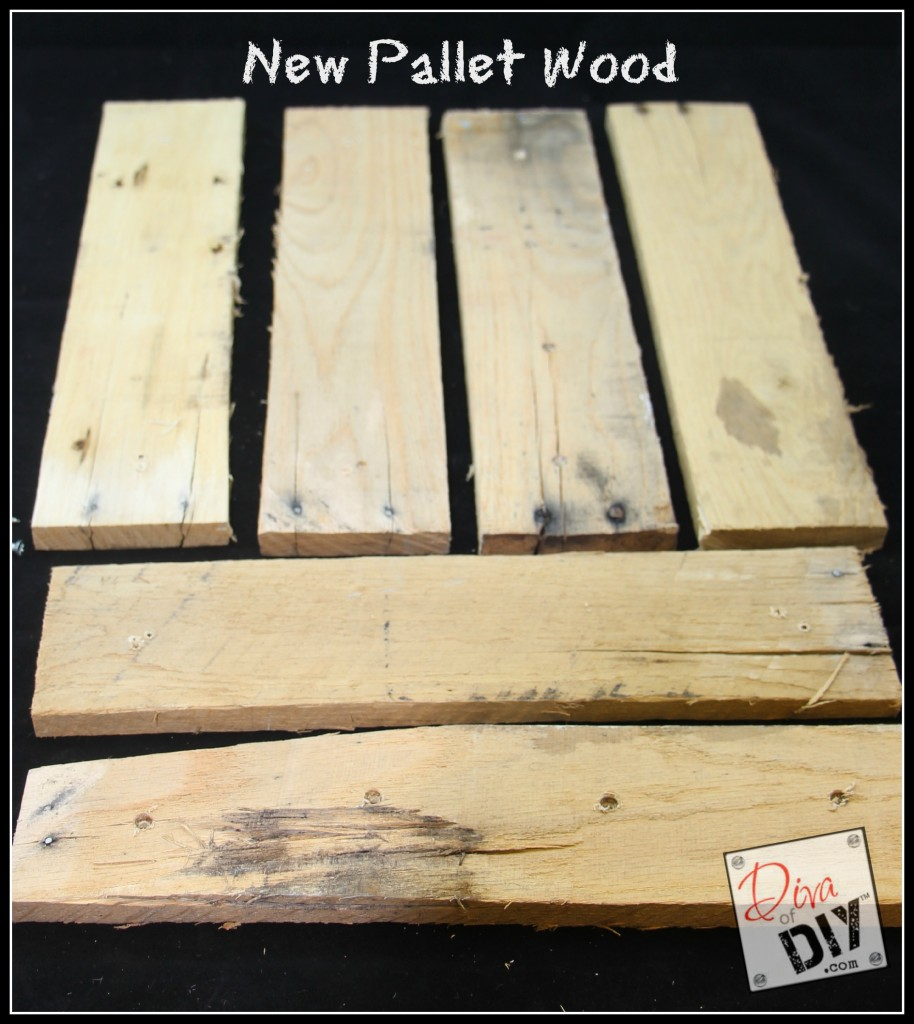 How to age new pallet wood new pic