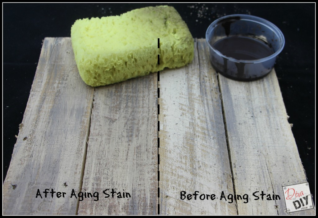 How to age new pallet wood step 4