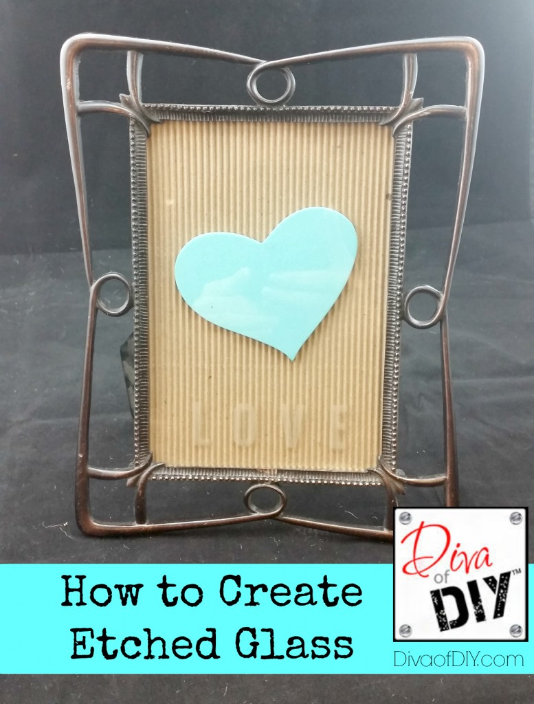 How To Create Etched Glass