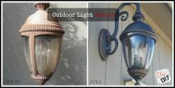Outdoor Light Makeover