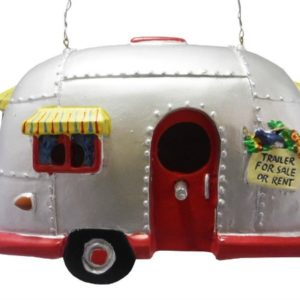 This adorable air stream bird house will look great next to my DIY bird feeder