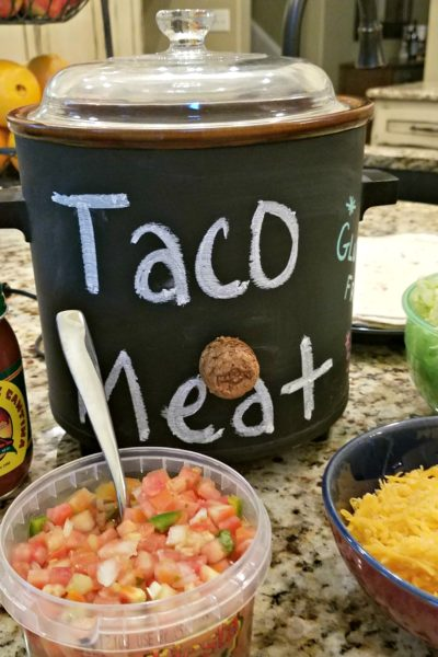 Easy DIY Crockpot Makeover Using Chalkboard Paint