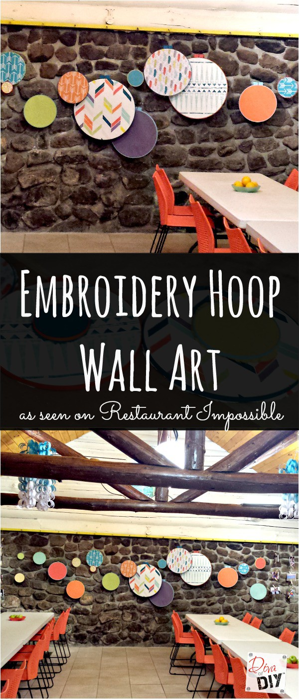 How To Make Embroidery Hoop Wall Art