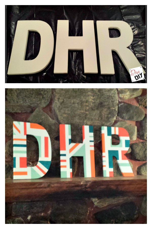 paper mache letters how to make designer letters on a budget