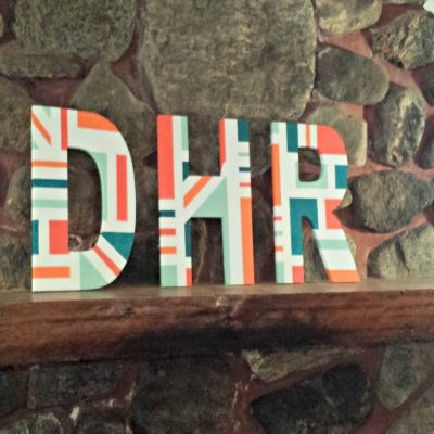 Paper Mache Letters: How to Make Designer Letters on a Budget