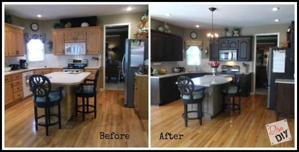 Kitchen makeover for 1990 kitchen cabinets