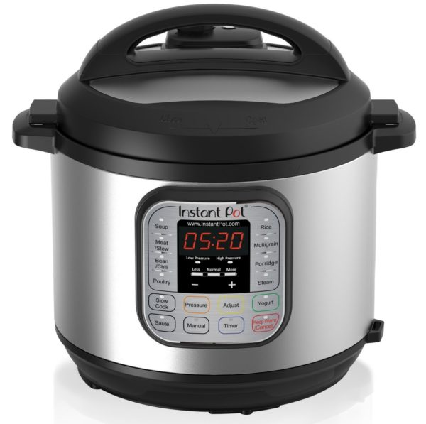 Meals are easy with the instapot multi-functional pressure cooker