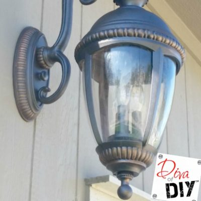 Update Your Outdoor Lighting with this Easy DIY Outdoor Light Makeover