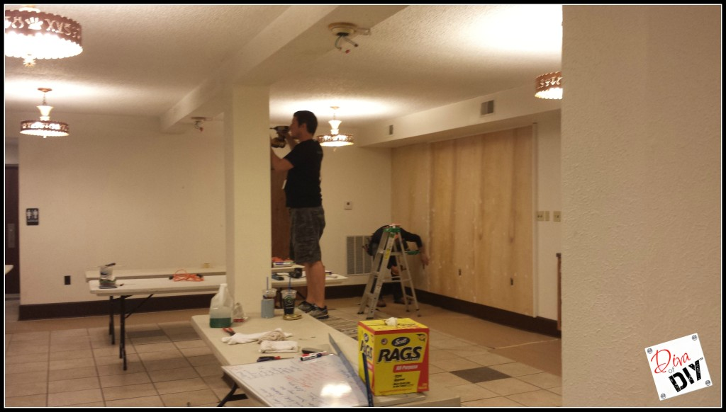 Adding the Plywood