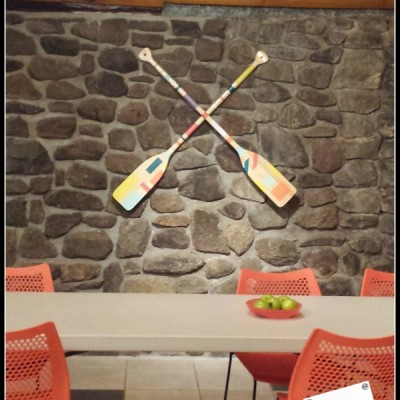Oars Upcycled Into Beautiful Artwork