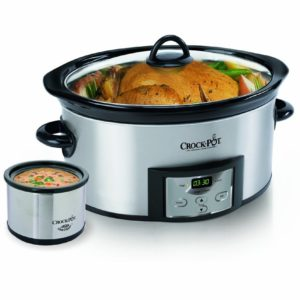 This programmable crockpot has all the bells and whistles