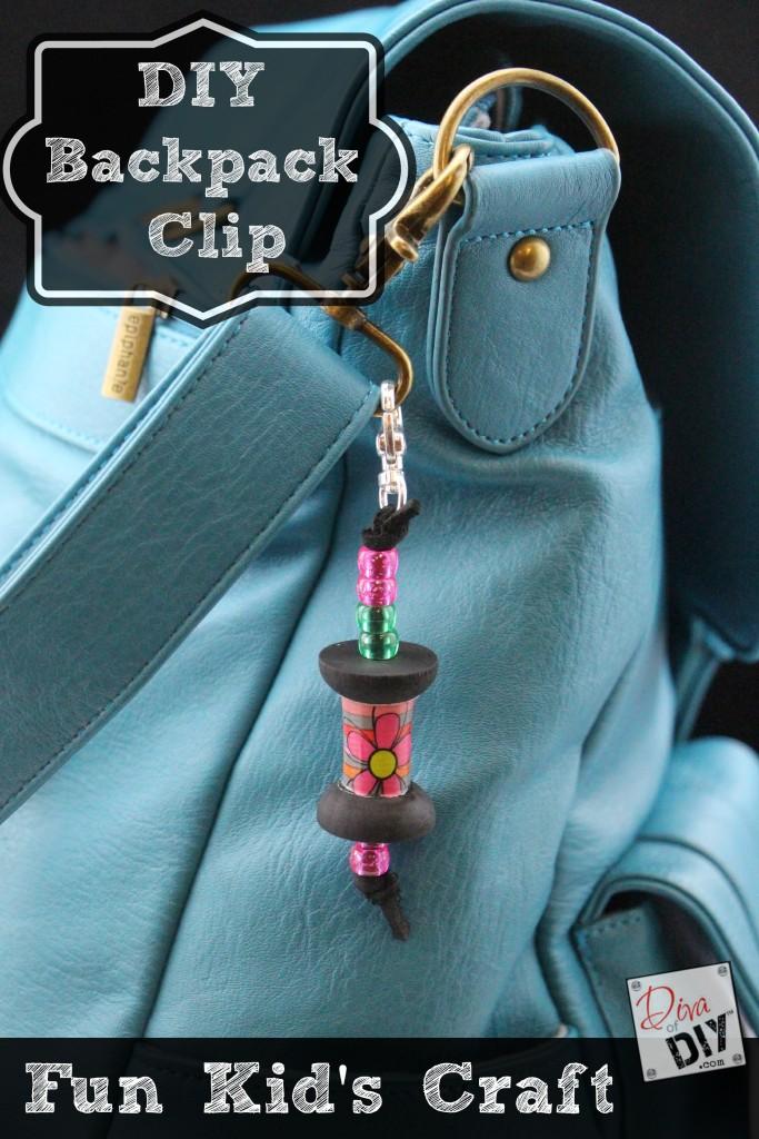 DIY Backpack clip