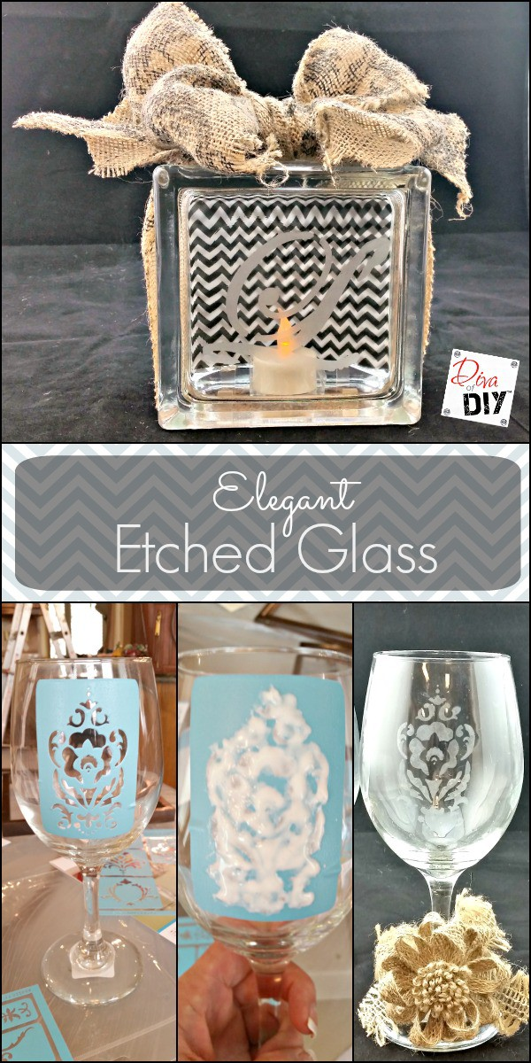 Quick and Easy Tutorial to Etch Glass with Confidence