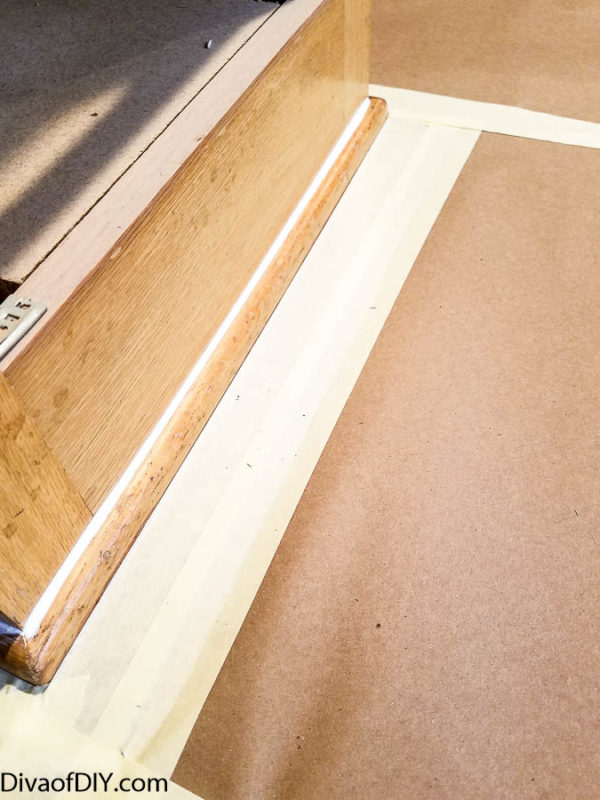Oak cabinet makeover- How to paint like a professional
