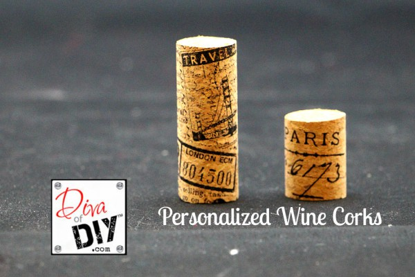 Personalized Wine Corks