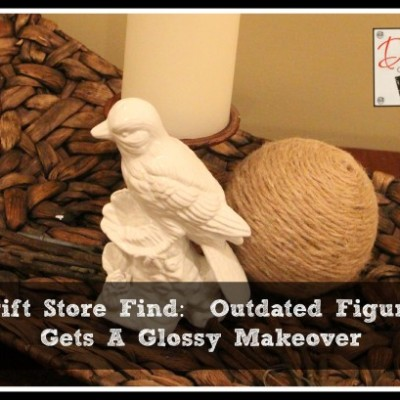 Paint Figurines to Create an Updated Look