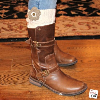 How To Make Your Own No Sew Boot Socks