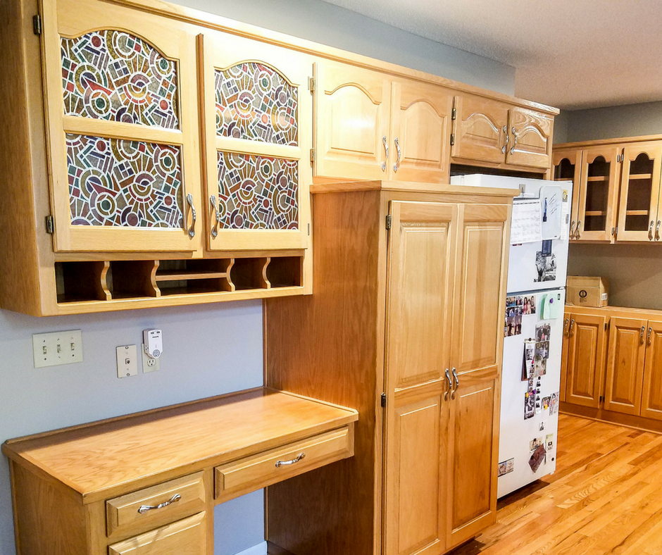 Oak Cabinet Makeover: How To Paint Like A Professional