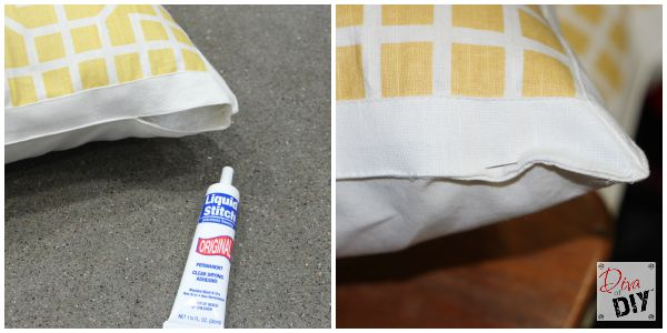 Make your own no sew throw pillows using placemats! This cheap throw pillows DIY is great for everyday bedroom throw pillows to perfect seasonal decor idea!