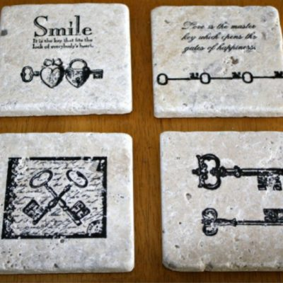 How to Make DIY Coasters Using Tiles