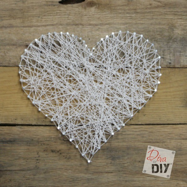twine craft ideas easy and inexpensive string s day craft 3149