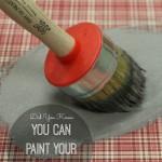 Chalk Paint Upholstery Tutorial