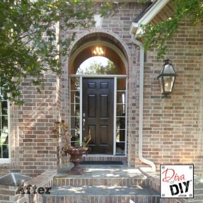 Add Curb Appeal with Paint on Your Front Door
