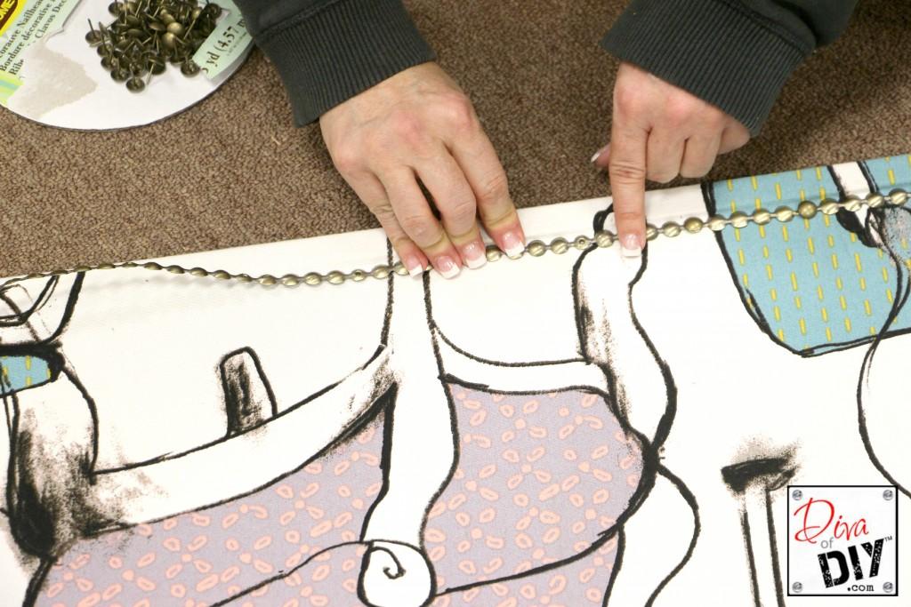 Corkboard step 5