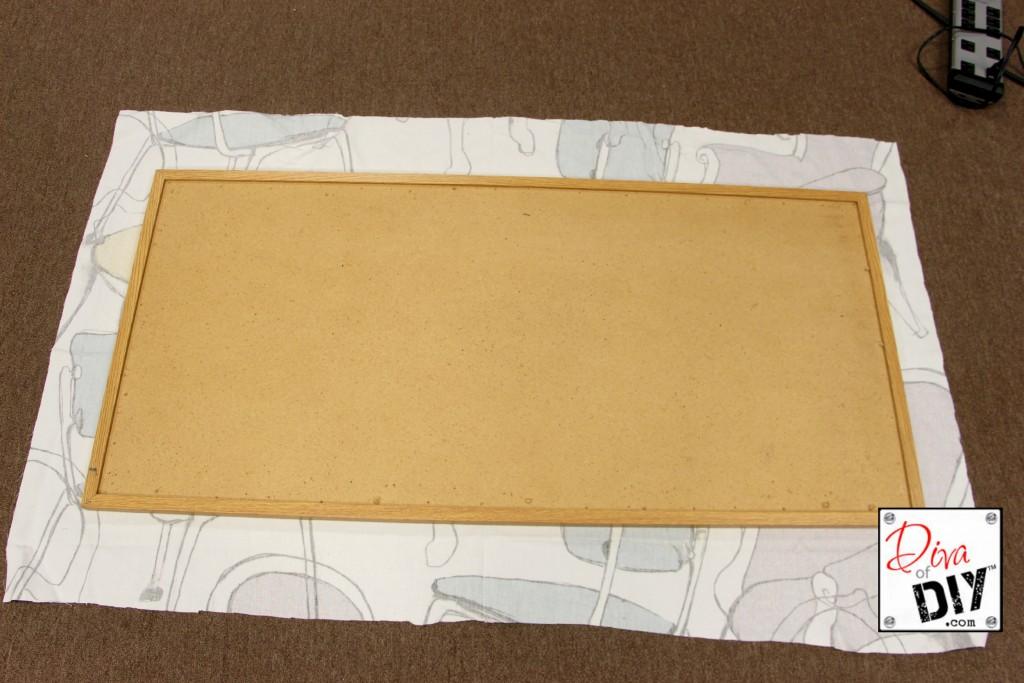 Corkboard fabric