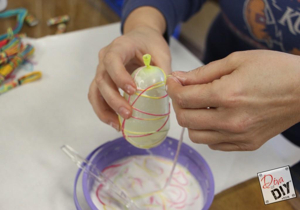 DIY Easter String Eggs pic 2