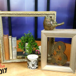 Shadow Boxes using Picture Frames