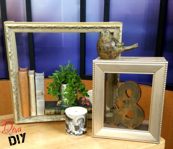 Shadow Boxes Using Picture Frames Diva Of Diy