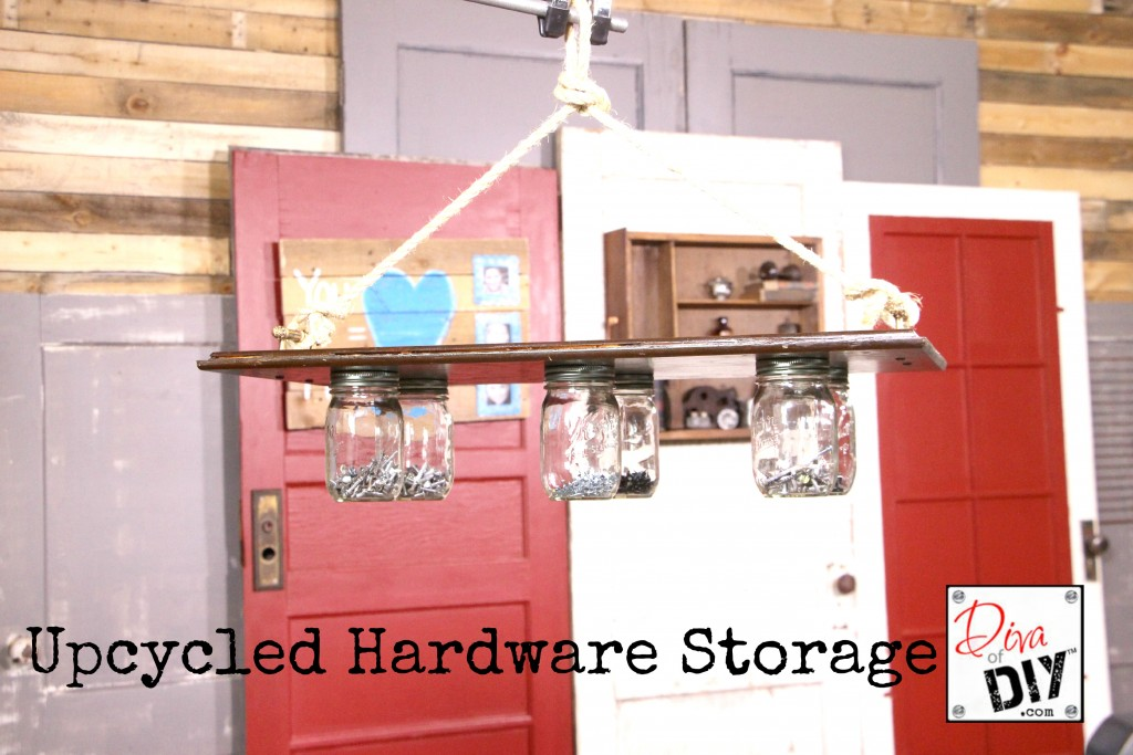 Upcycled Hardware Storage