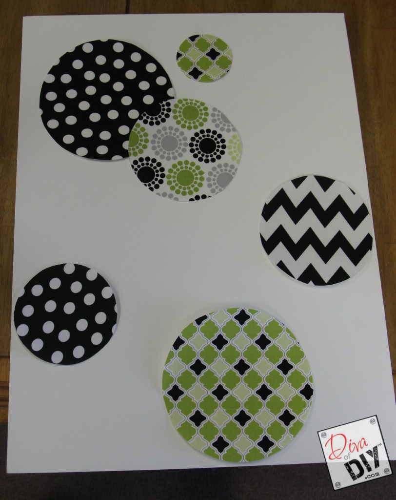 fabric wall decals step 6